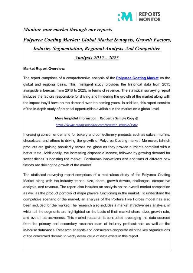 Polyurea Coating Market Demand, Growth Analysis and Forecast
