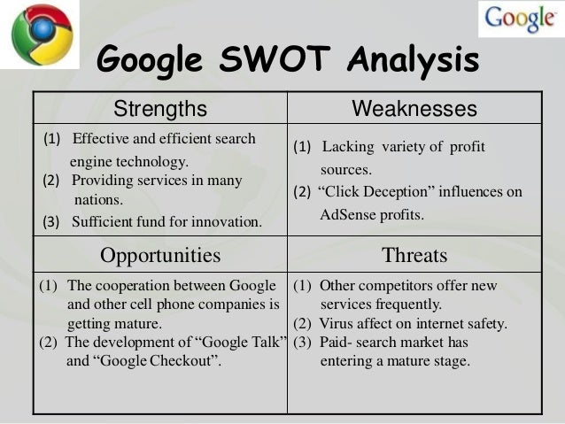 an swot analysis of the new system of the organization Some strengths or weaknesses can be recognized instantly without deeper studying of the organization or new opportunities and swot analysis they eliminate.