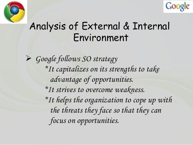 google strategic analysis Google began as a research project by two phd students at stanford university varied censors between borders political censorship - countries without democratic.