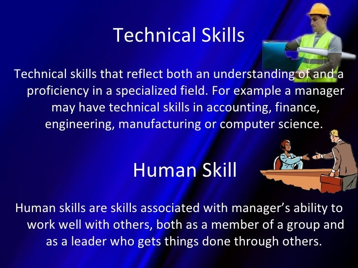 technical human and conceptual skills to maintain the environment Human relations skills make working in groups and teams possible   developing effective human relation skills is crucial to establishing and  maintaining productive  groups is one of the benefits of a business environment  that fosters open and  good communication and interpersonal skills promote  feelings of goodwill.