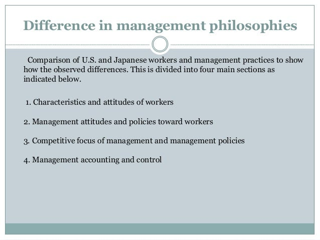 ethical differences between japan and usa Institutional review boards and independent ethics committees  in many institutions in the usa the committee also serves as the.