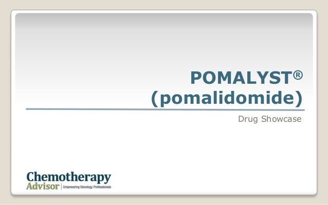 POMALYST®(pomalidomide)Drug Showcase