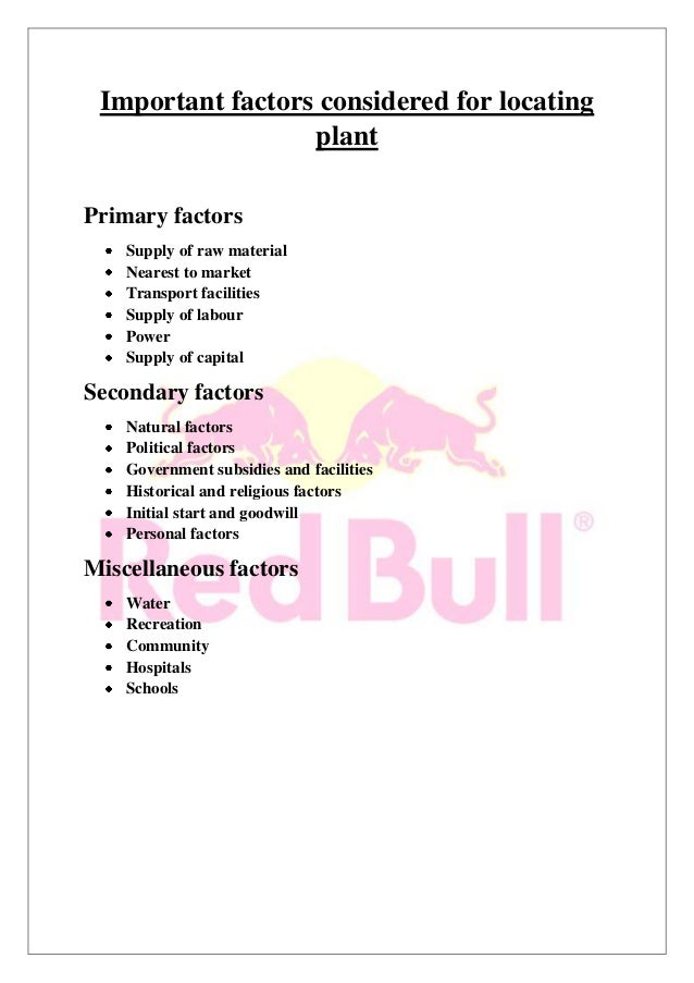 external factors of red bull Essay on red bull situation analysis essay on red bull situation analysis 2088 words nov 6th the first section includes internal environment and external environment which affect the company more about essay on red bull situation analysis red bull analysis 4398 words | 18 pages.