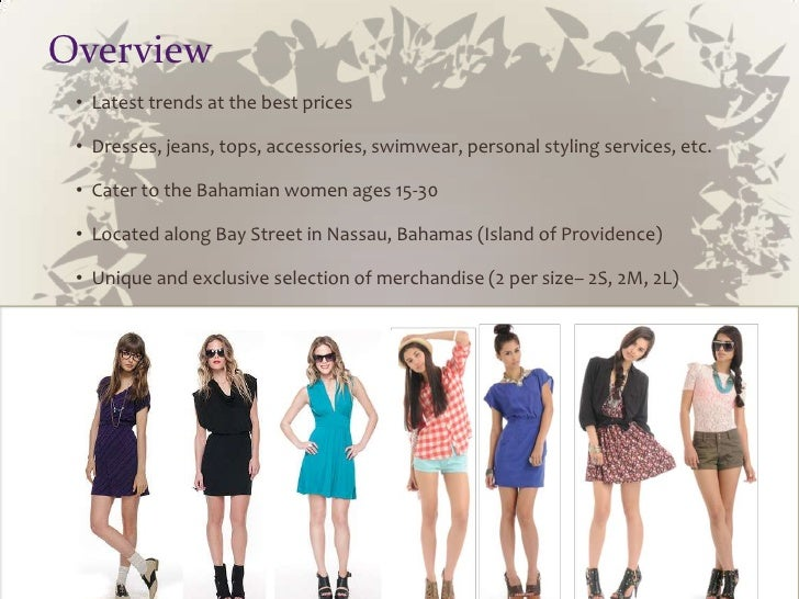 fashion boutique business plan in india