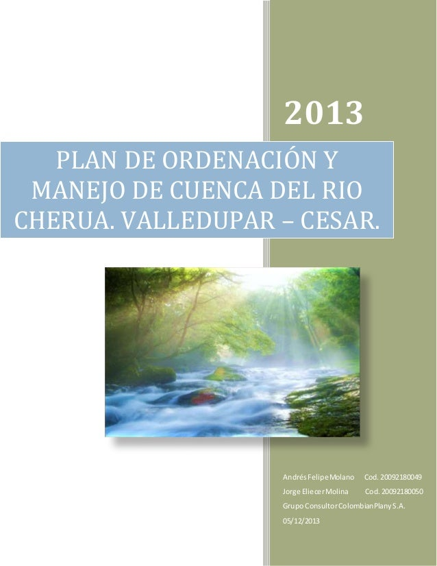 2013 AndrésFelipeMolano Cod.20092180049 Jorge EliecerMolina Cod.20092180050 Grupo ConsultorColombianPlanyS.A. 05/12/2013 P...