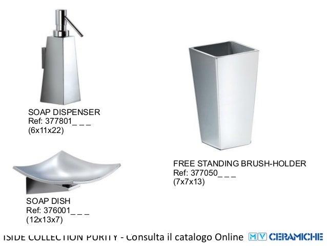 pomdor iside collection accessori bagno