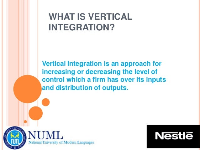 horizontal and vertical integration of supply chain
