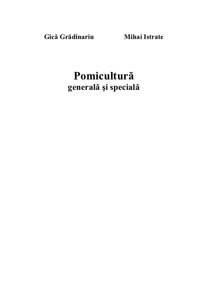 Pomicultura generala si speciala Slide 2
