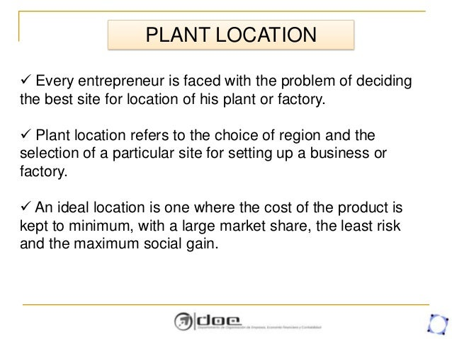 facility location and planning layout rh slideshare net Manual Layout Templates Specification Manual