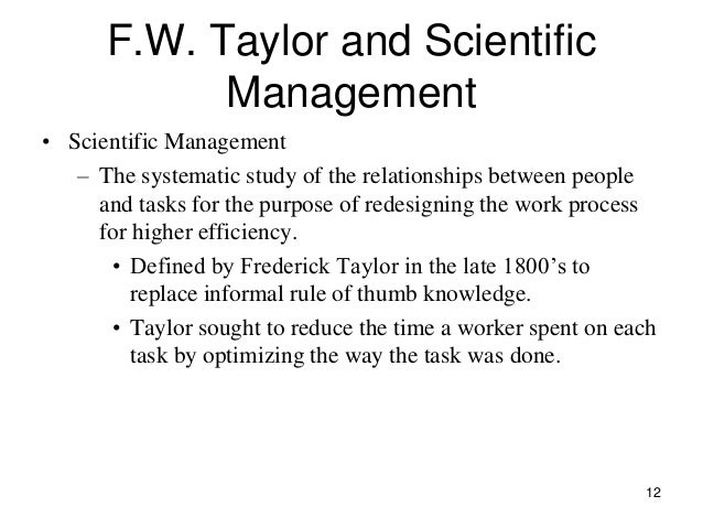 an analysis of the basic principles of scientific management principles of work organizations We'll take a look at these basic principles of management and explain them in easy to understand terminology principles of management - fayol's 14 principles division of work - this principle of management is based on the theory that if workers are given a specialized task to do, they will become skillful and more efficient in it than.