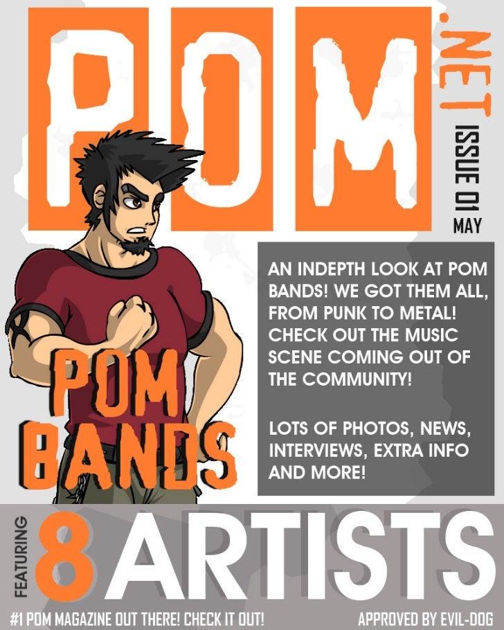 POM.net Magazine Issue 01 MAY