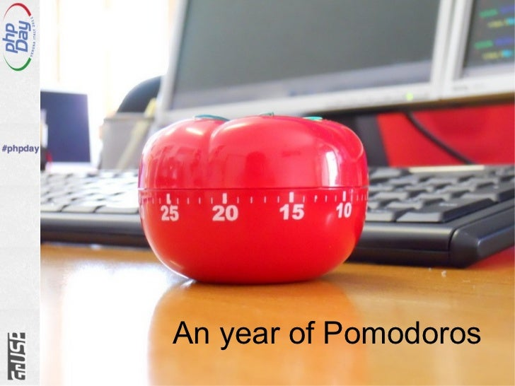 An year of Pomodoros