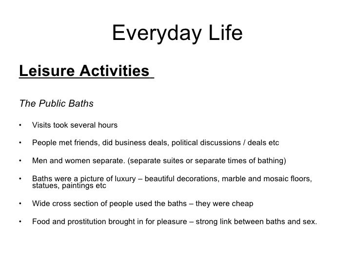 short essay on importance of leisure time activities However, leisure activities are more important for most people to recapitulate, the main advantage of sample answer 4: it is generally accepted that we all require leisure time to recover from the hassle essay sample: some people think that it is important to use leisure time for activities that.