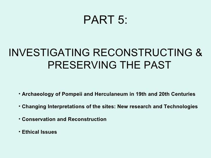 Pompeii Part 5: Investigating the past Slide 2