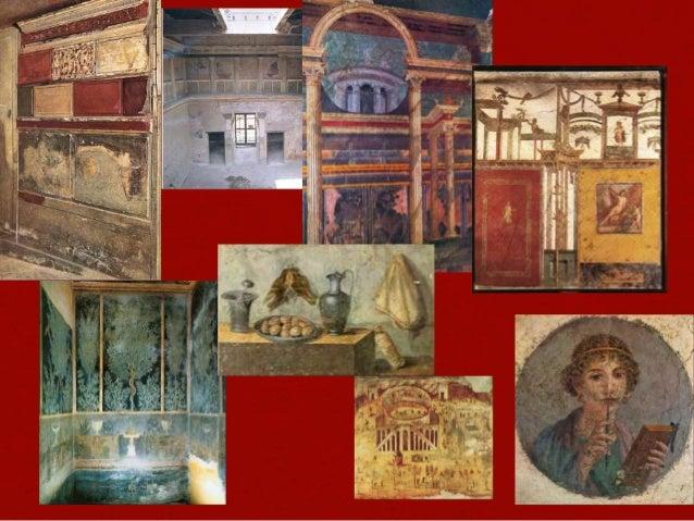 Pompeii wall paintings april 2014