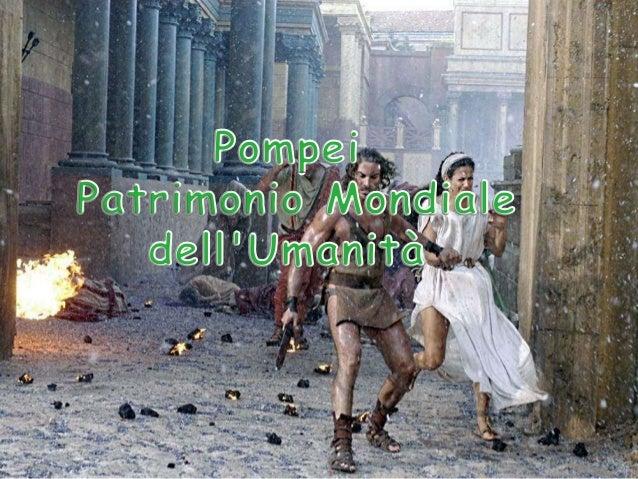 Nell'estate del 79 d.C. Pompei fu vittima di una forte eruzione del Vesuvio. La città fu sommersa da una pioggia di cenere...