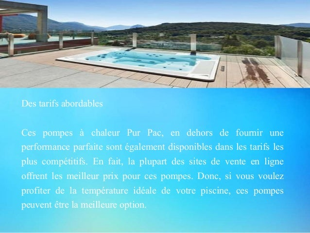 pompes a chaleur piscine bien selectionnee et abordable
