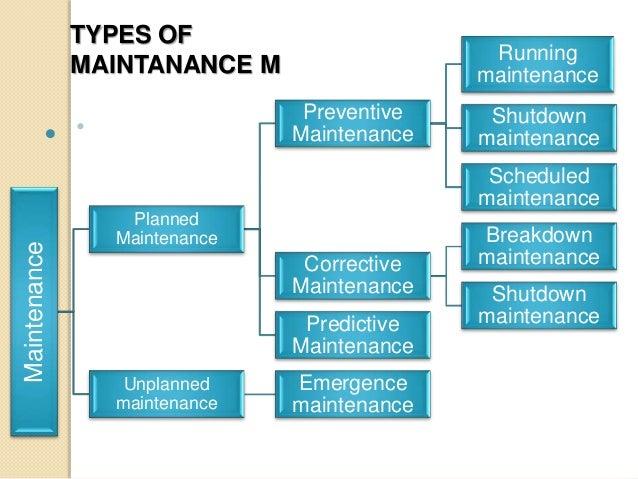 maintenance management