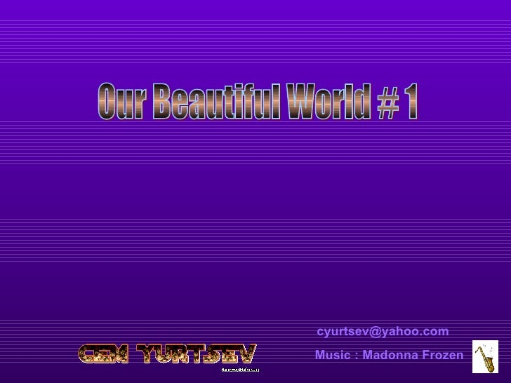 [email_address] Music : Madonna Frozen Our Beautiful World # 1