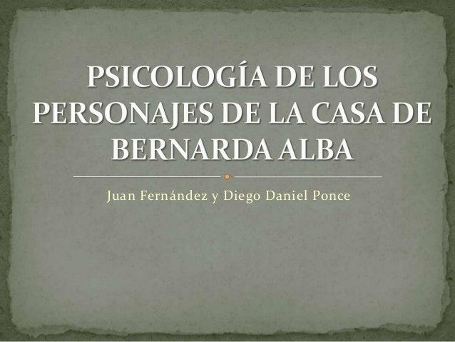Juan Fernández y Diego Daniel Ponce