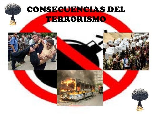 Resultado de imagen para El terrorismo y sus consecuencias