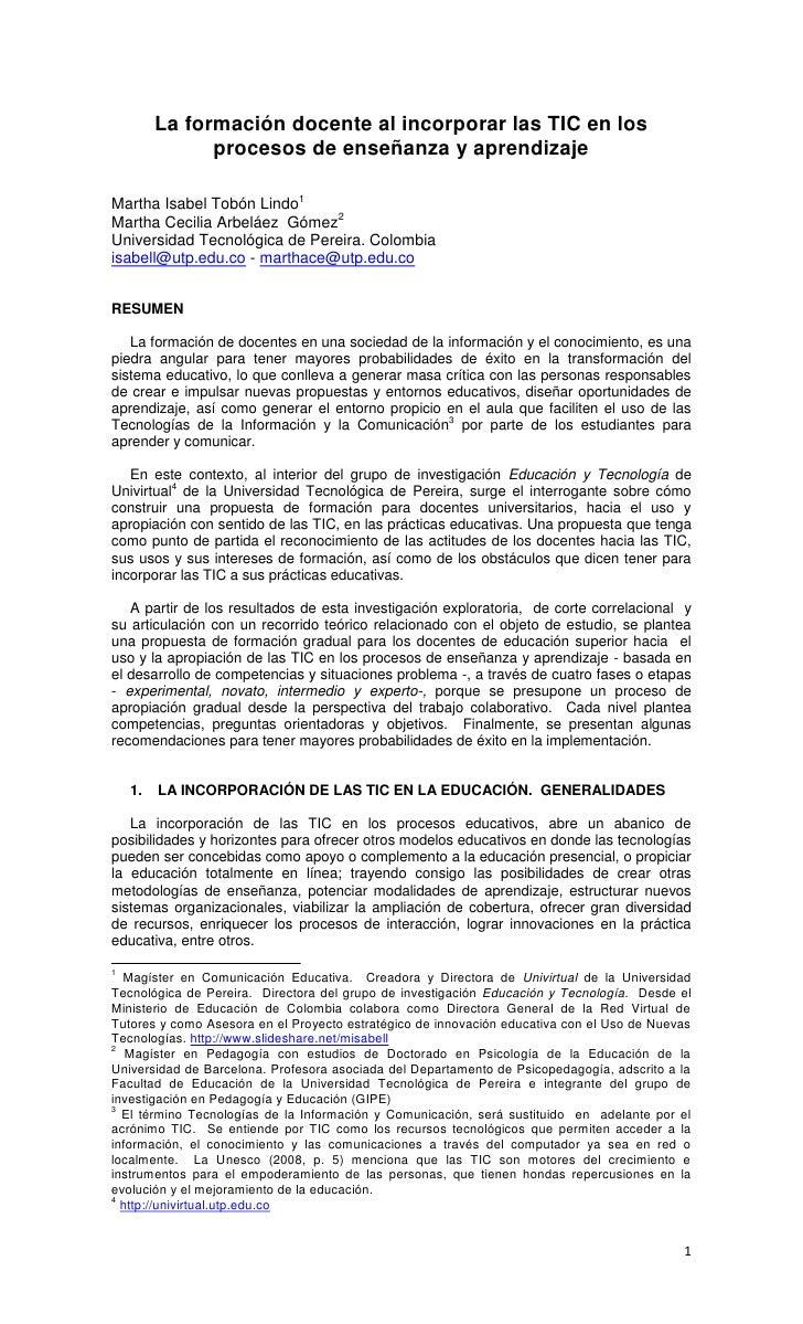 Ponencia del Congreso Iberoamericano de Educación <br />Metas 2021 <br />Argentina, Septiembre 13, 14 y 15 de 2010<br />La...