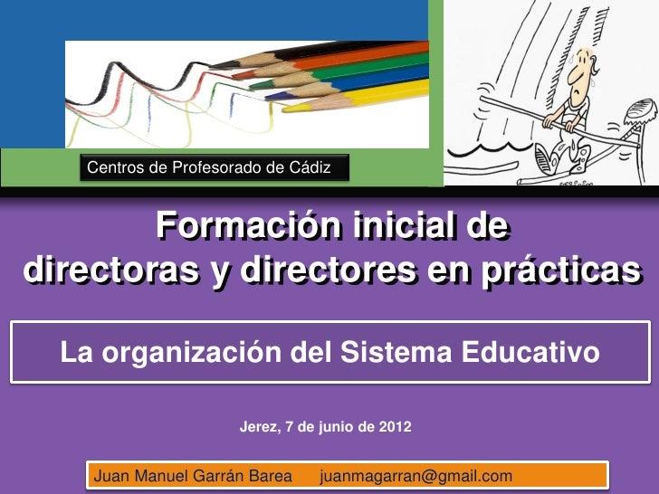 www.themegallery.com   Centros de Profesorado de Cádiz                        LOGO        Formación inicial dedirectoras y...