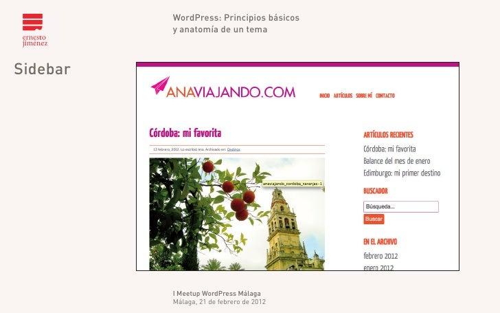 Principios básicos y anatomía de un tema de WordPress