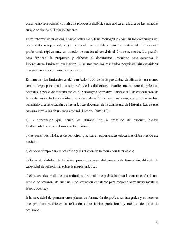Educación histórica y formación docente.