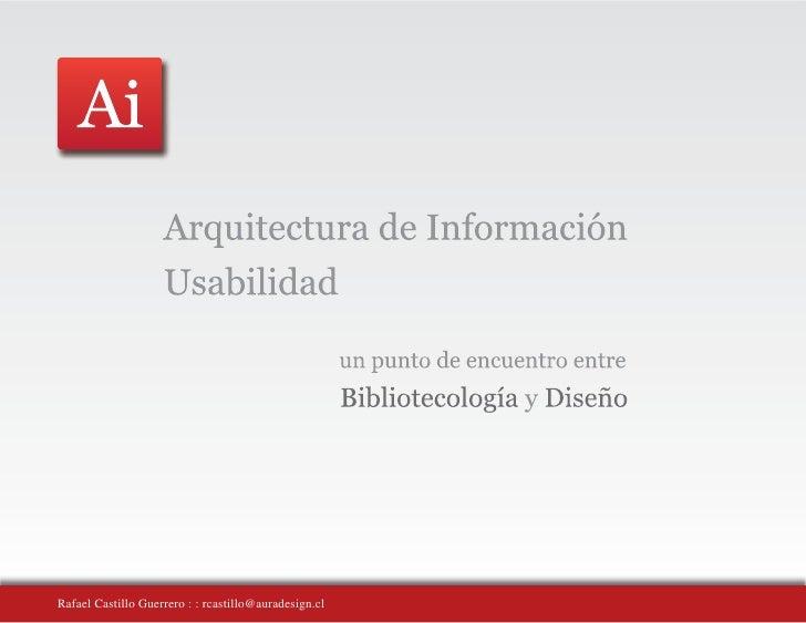 Rafael Castillo Guerrero : : rcastillo@auradesign.cl