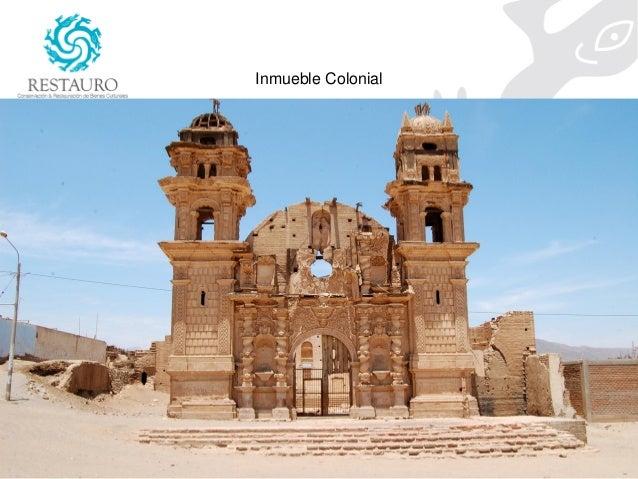 Intervenciones en el patrimonio cultural inmueble la for Patrimonio mueble