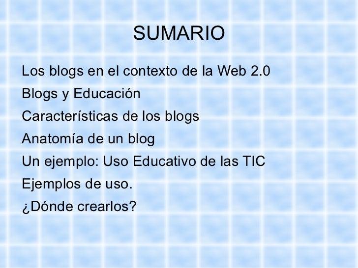 Ponencia blogs Slide 2