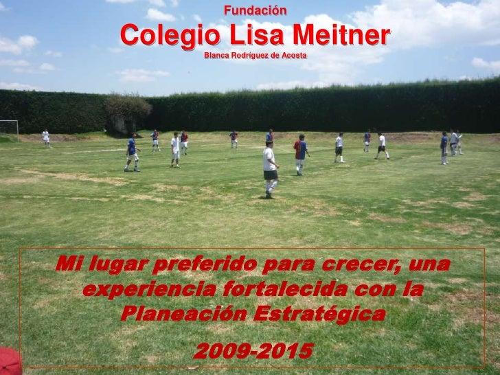 Ponencia colegio lisa meitner bucaramanga