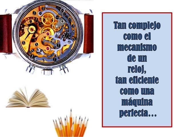 Lectura y escritura…pero…                         ¿Y éste título?Algo tan llamativo como el funcionamiento de un reloj y e...