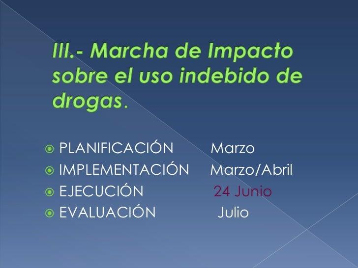 EJECUCIÓN                Marzo a Setiembre (En tutoría dos sesiones por trimestre;  y  las demás áreas desarrollarán una s...