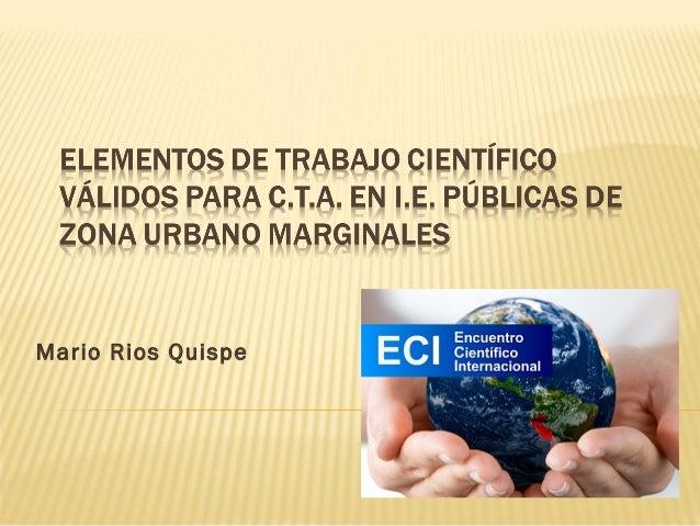 Mario Rios Quispe
