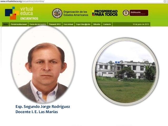 Pensando, pensando mi comportamiento voy mejorando Virtual educa Medellín Colombia XIV Encuentro Internacional  Otra forma...