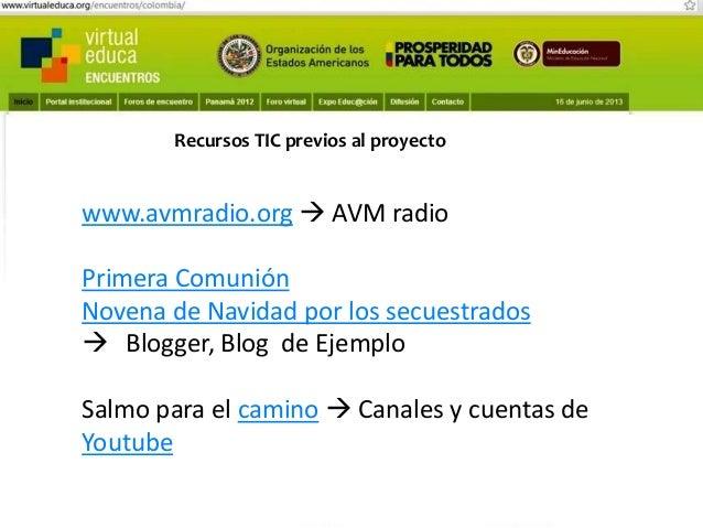 Pensando, pensando mi comportamiento voy mejorando Virtual educa Medellín Colombia XIV Encuentro Internacional  Recursos T...