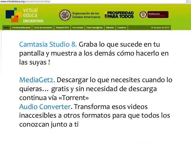 Pensando, pensando mi comportamiento voy mejorando Virtual educa Medellín Colombia XIV Encuentro Internacional  www.gogear...