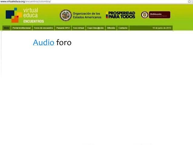 Pensando, pensando mi comportamiento voy mejorando Virtual educa Medellín Colombia XIV Encuentro Internacional  Aprendizaj...