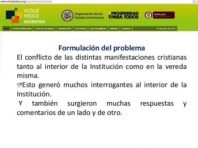 Pensando, pensando mi comportamiento voy mejorando Virtual educa Medellín Colombia XIV Encuentro Internacional  Explorar e...