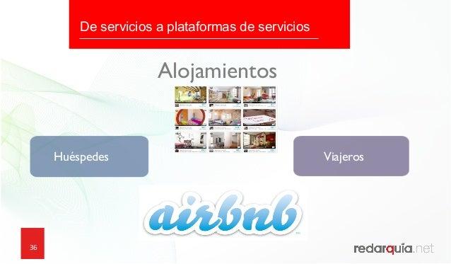 36 Huéspedes Viajeros Alojamientos De servicios a plataformas de servicios