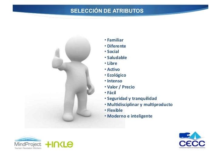 SELECCIÓN DE ATRIBUTOS          • Familiar           • Diferente           • Social           • Saludabl...