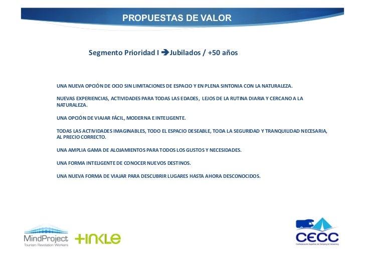 PROPUESTAS DE VALOR                   Segmento Prioridad I Jubilados / +50 años  UNA NUEVA OPCIÓN D...