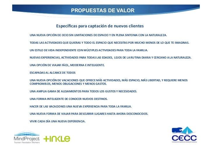 PROPUESTAS DE VALOR                           Específicas para captación de nuevos clientes UNA NUEVA OPCIÓ...