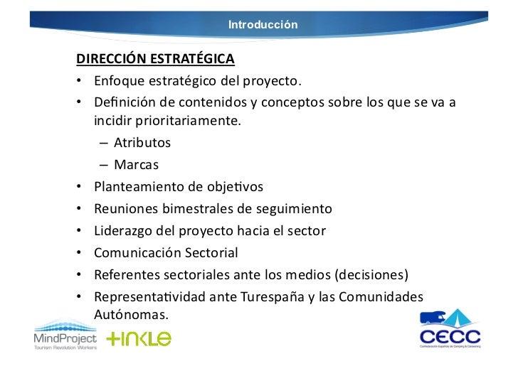 IntroducciónDIRECCIÓN ESTRATÉGICA • Enfoque estratégico del proyecto. • Definición de contenidos y co...