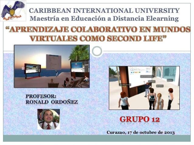 Ponencia grupo 12 second life definitiva lamia Slide 2