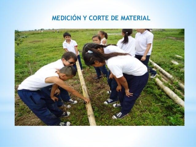 MEDICIÓN Y CORTE DE MATERIAL