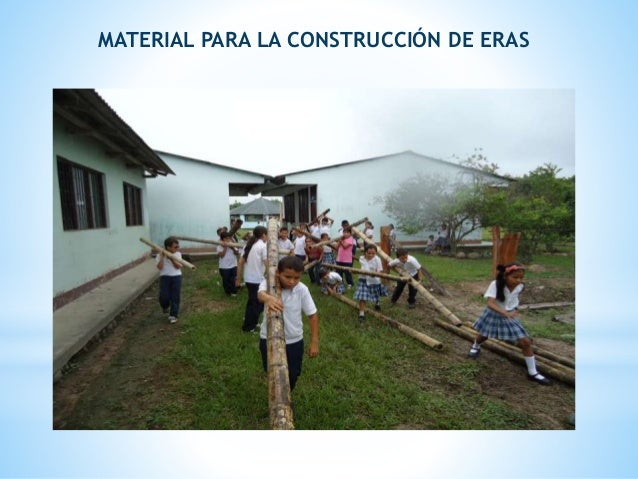 MATERIAL PARA LA CONSTRUCCIÓN DE ERAS