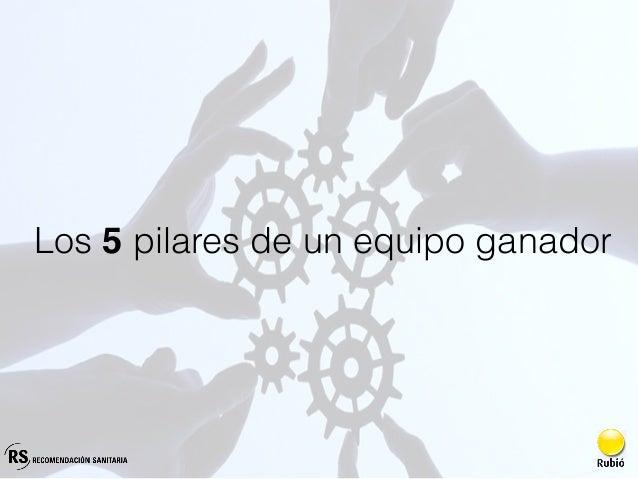 Los 5 pilares de un equipo ganador